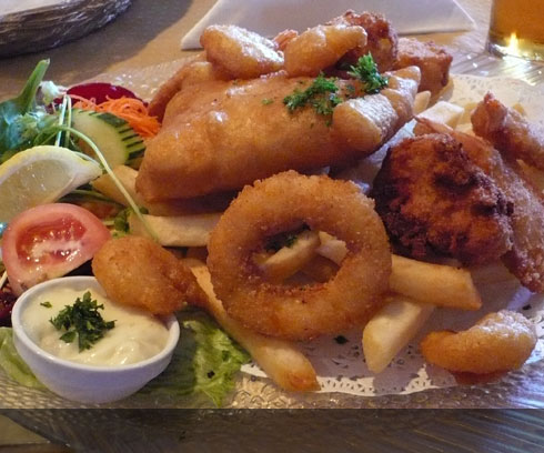 Hearty Tasmanian fare in Devonport