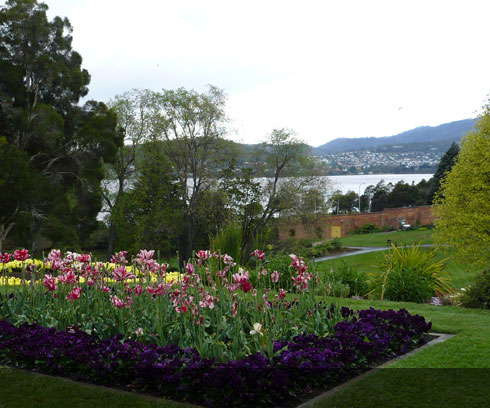The delightful Hobart Botanic Gardens are a must see