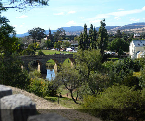The nostalgic town of Richmond just minutes north of Hobart