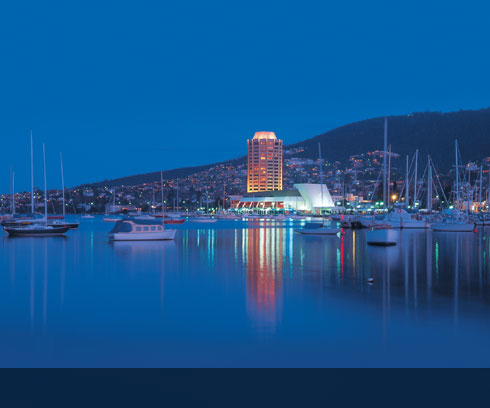Hobart's iconic hotel is the stunning Wrest Point