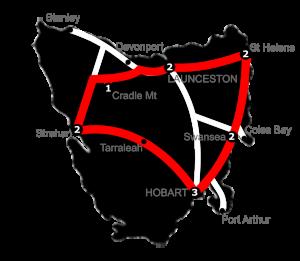 12 Night St Helens Loop Tasmania Holiday Package - 3 Star