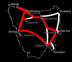 12 Night Stanley Loop Tasmania Holiday Package - 3 Star