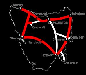 15 Night Gran Turismo Tasmania Holiday Package - 3 Star