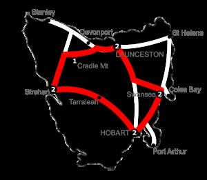 9 Night Rapido Loop Tasmania Holiday Package - 3 Star