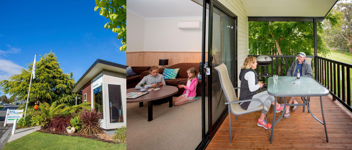 St Helens Holiday Park - 2 Bedroom Valley View Unit